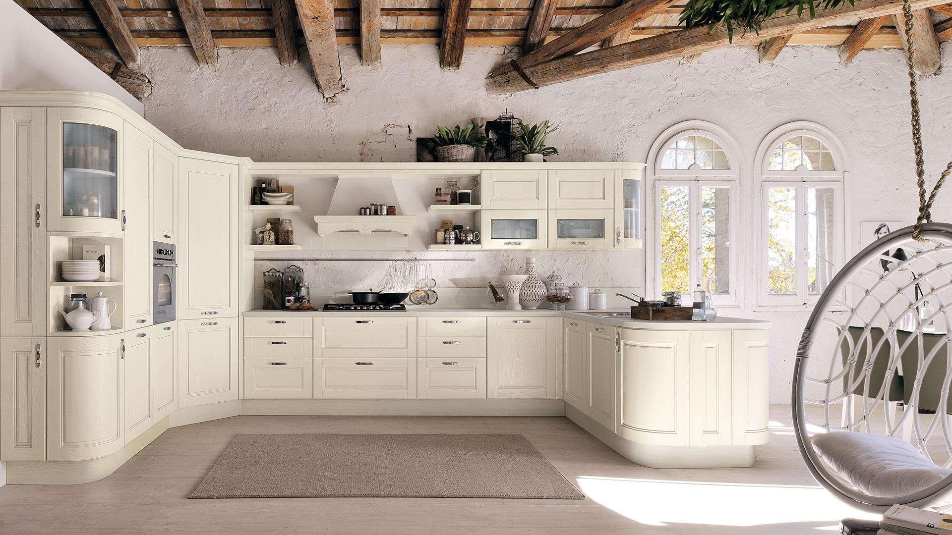 Cucine in stile provenzale le idee country chic per chi for Cucine stile country