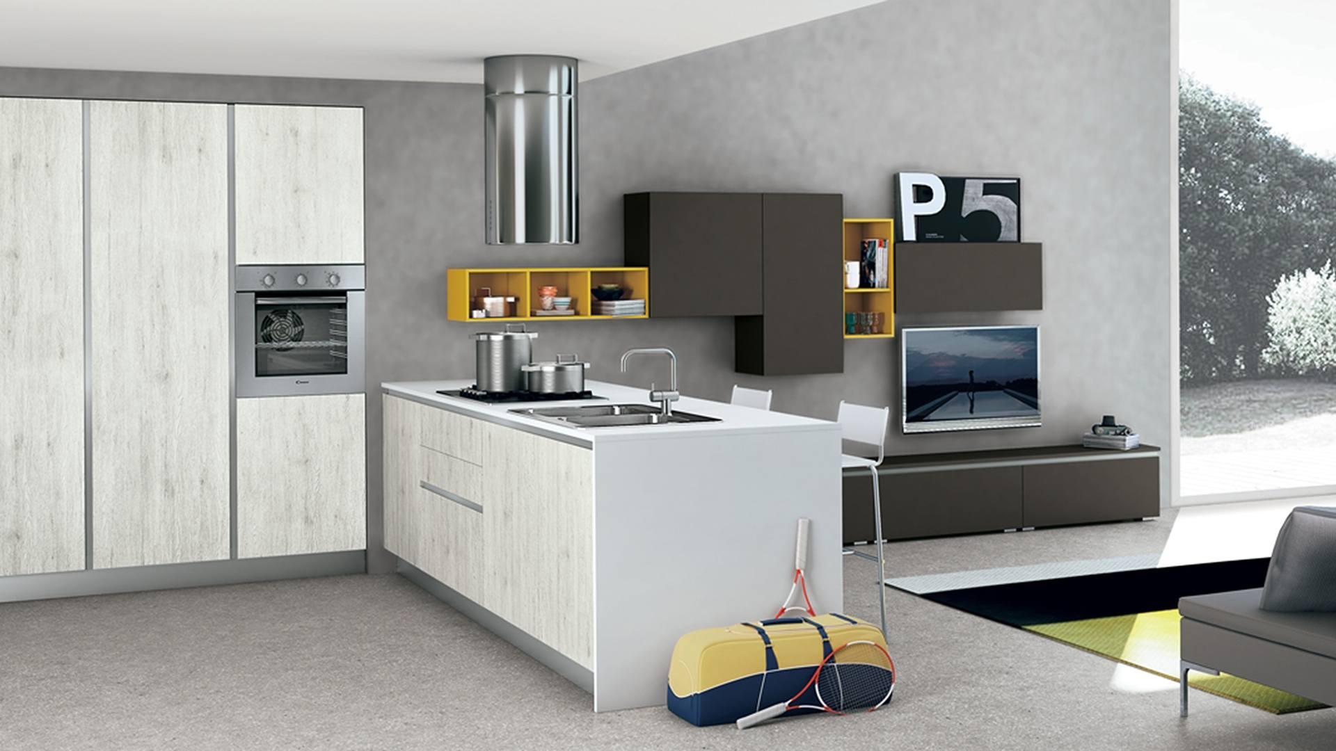 Le Nuove Cucine Moderne Lube Store Milano Le Cucine - ank lube store ...