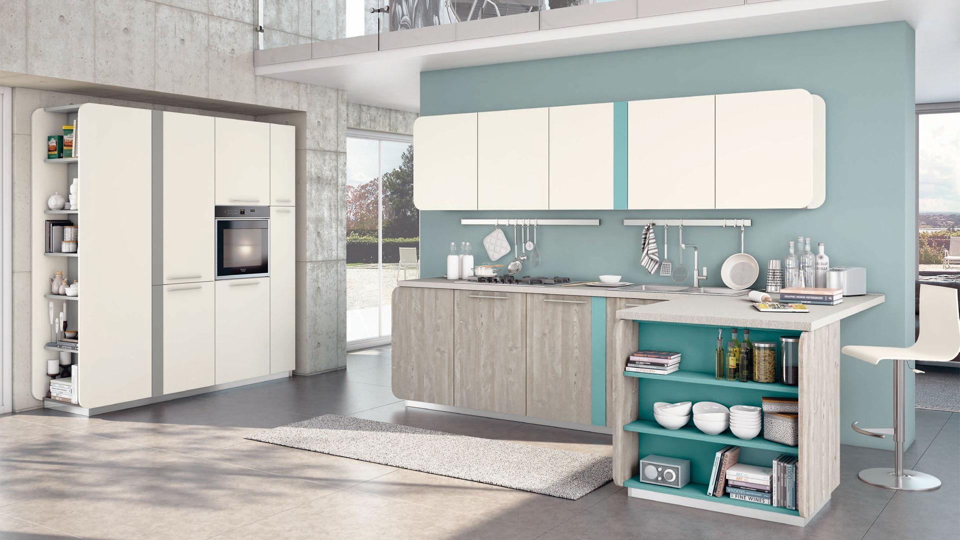 Immagina - Lube Store Milano - Le Cucine Lube & Creo a Milano
