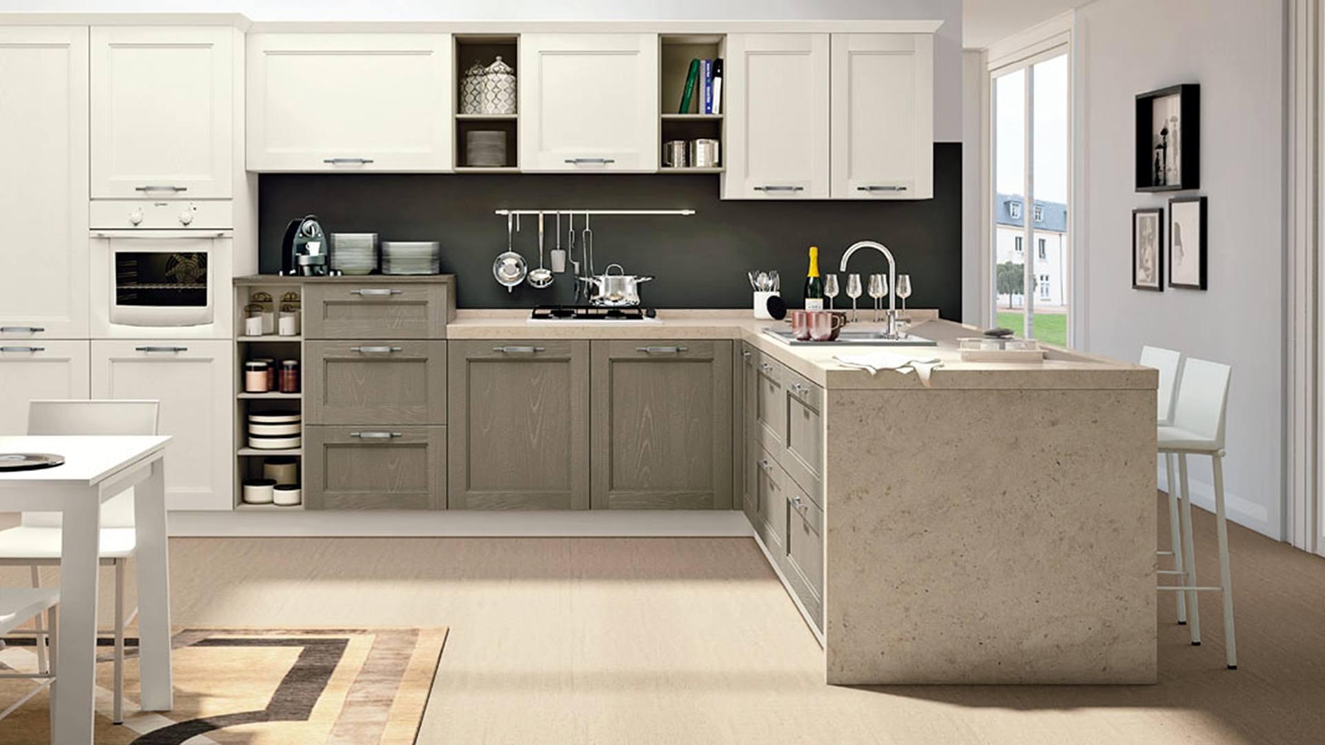 Mattonelle cucina bianca best parete lustrata delle mattonelle in