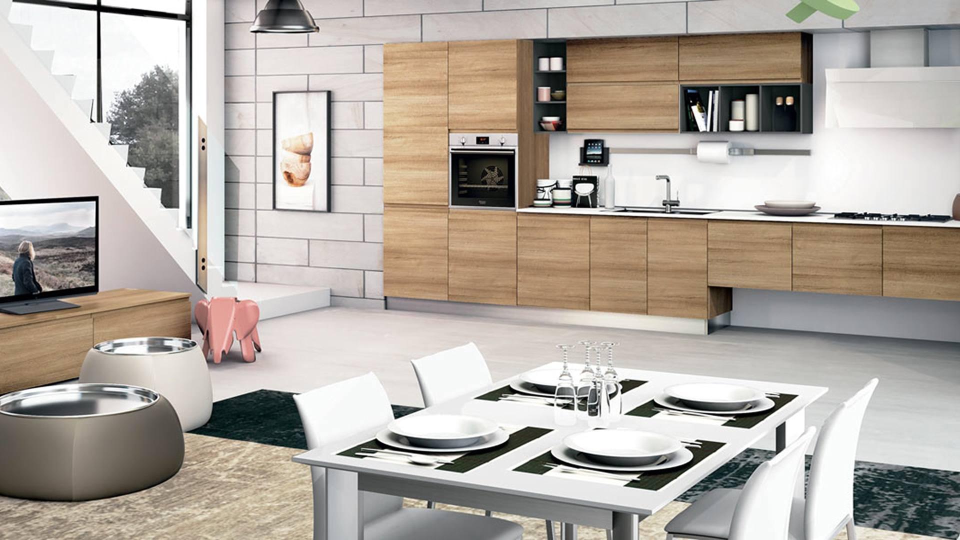 Cucina Jey - Lube Store Milano Via Massena 2/A angolo Corso Sempione