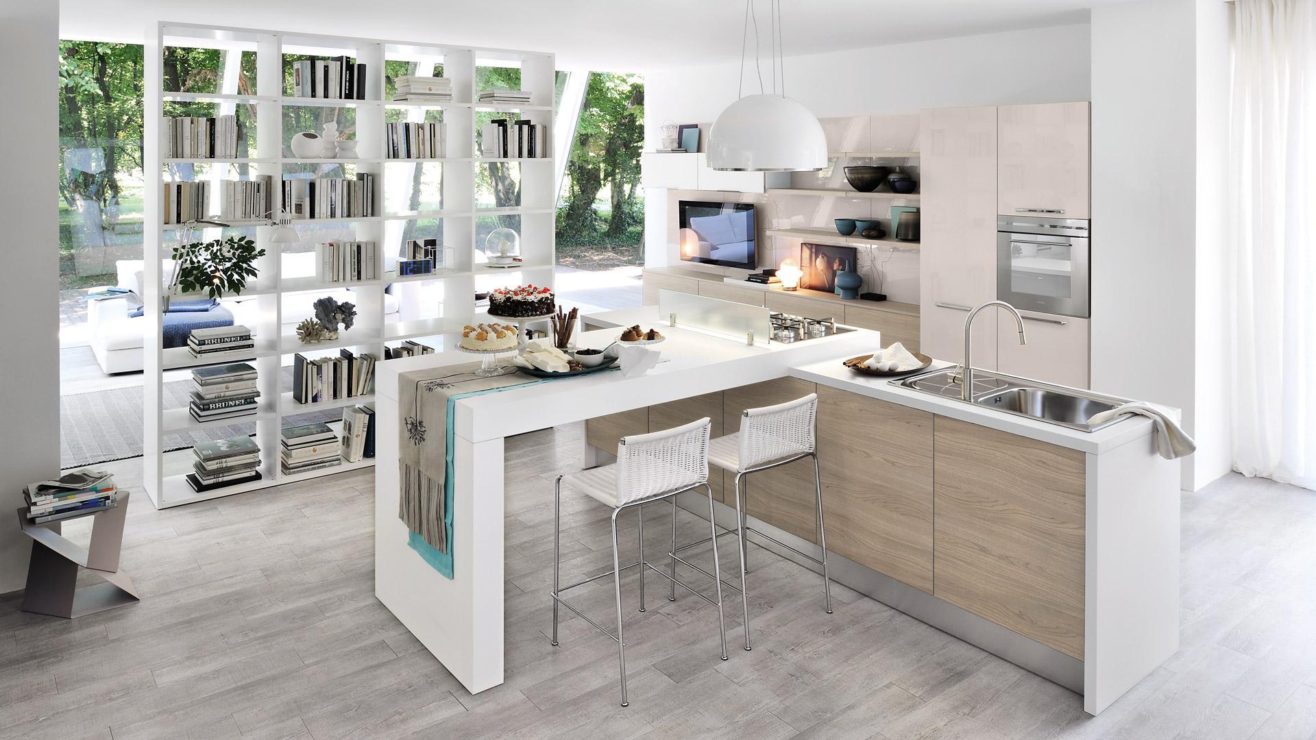 Piccola E Abitabile Cucine Moderne Per Ambienti Piccoli. 20se.co #51697A 1920 1080 Progetti Cucine Per Piccoli Spazi