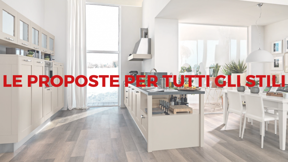 Lube arredamenti, le proposte per tutti gli stili - Lube Store Milano - Le Cucine Lube & Creo a ...