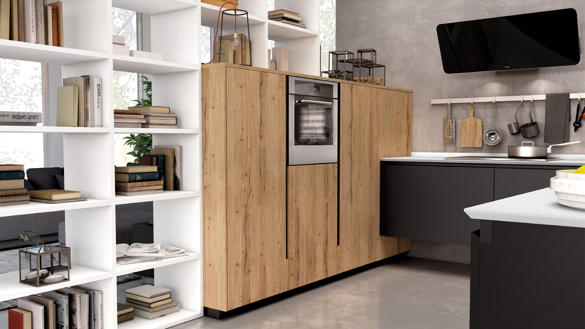 Le nuove cucine moderne lube store milano le cucine - Cucine moderne con isola lube ...