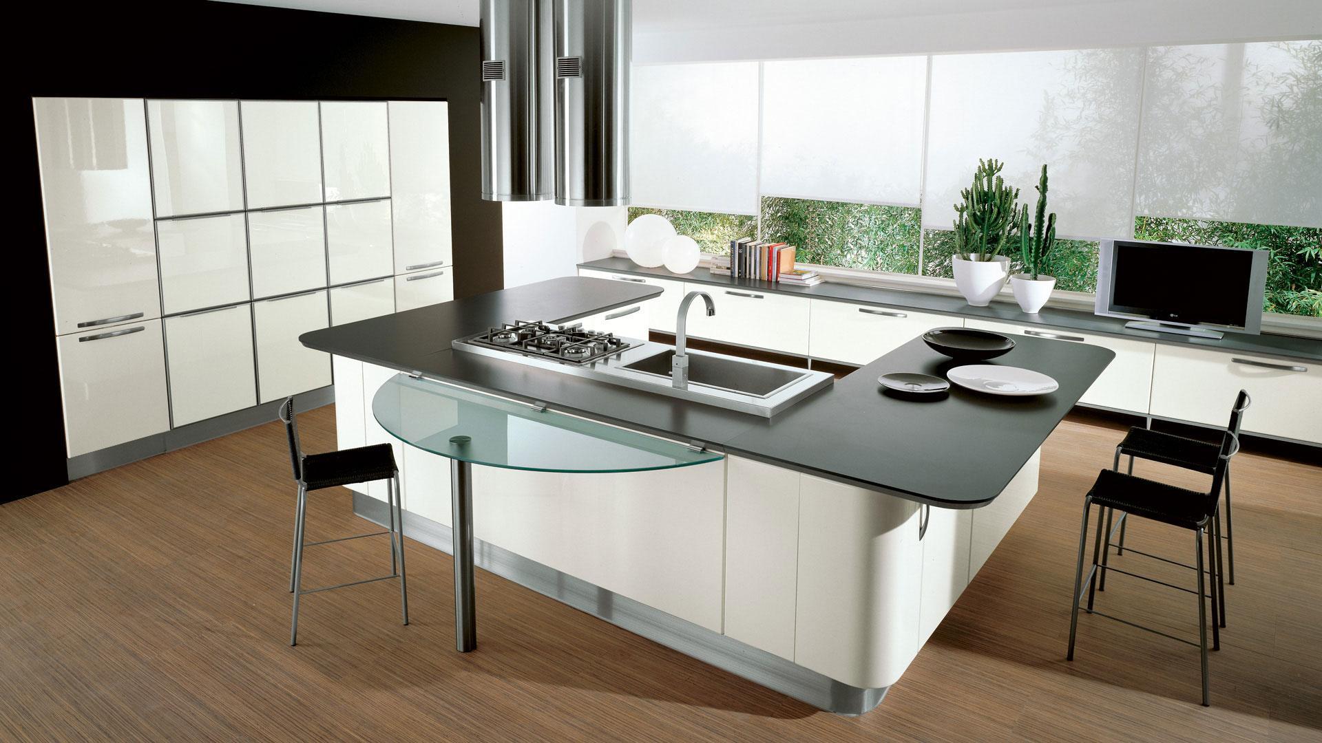 Cucina bianca 5 soluzioni per arredare proposti da lube lube store milano le cucine lube - Soluzioni no piastrelle cucina ...