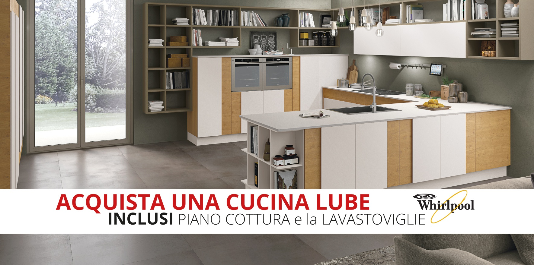Cucine Promozione. Offerta Cucina Segno Larice With Cucine ...