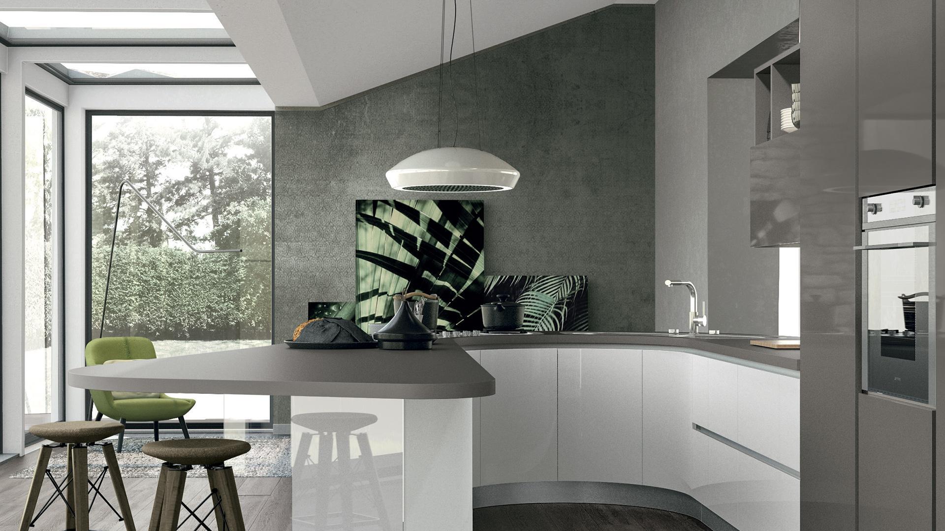 Piccoli consigli di stile per arredare una cucina senza pensili ...