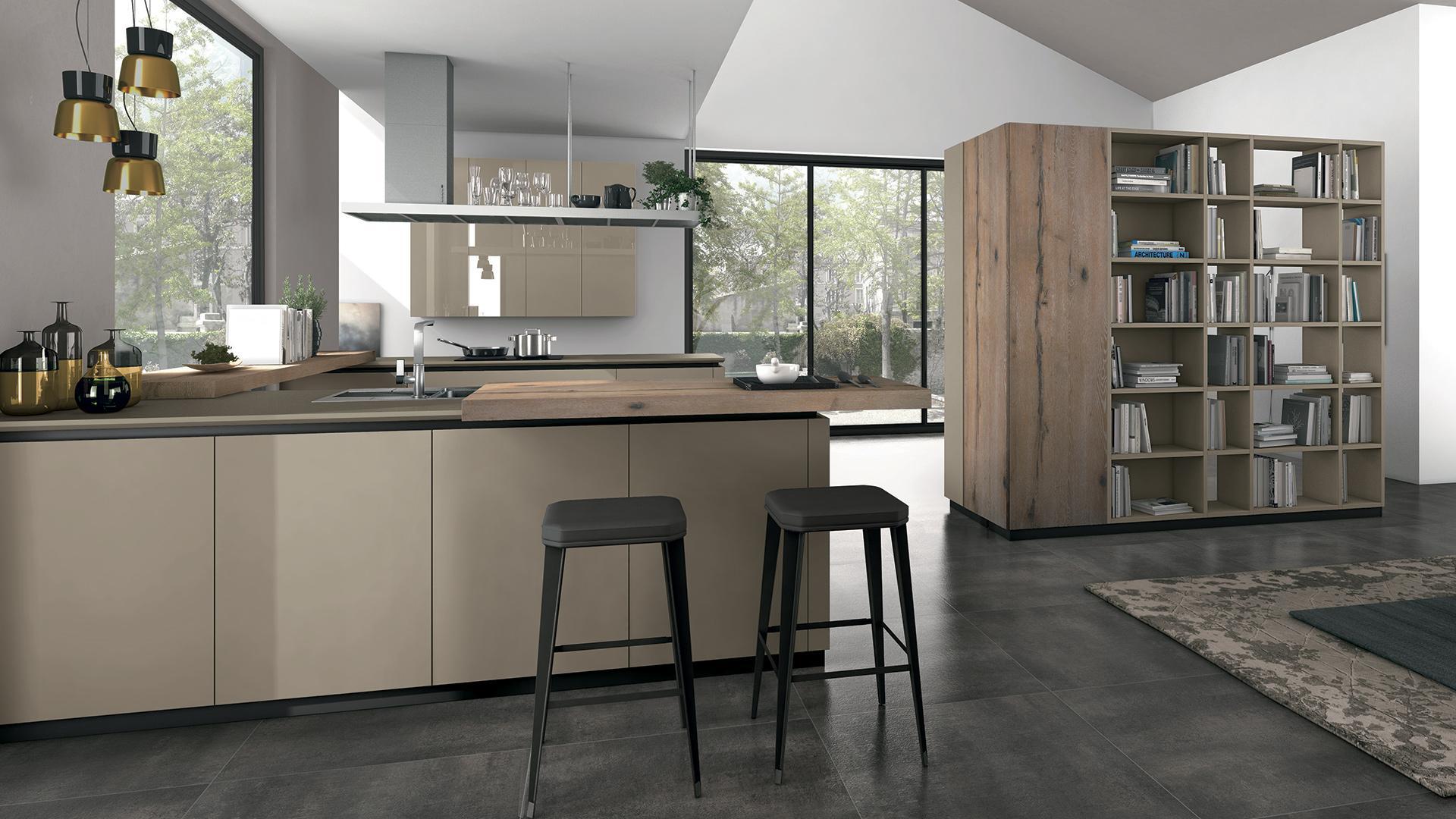 Cucine Lube Foggia : Cucina oltre lube store milano via massena a angolo