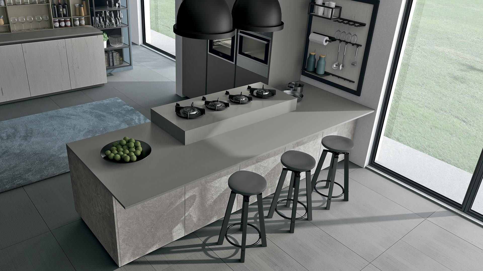 Armadio In Cartongesso Per Soggiorno - Top Cucina Cemento - Ltay.net
