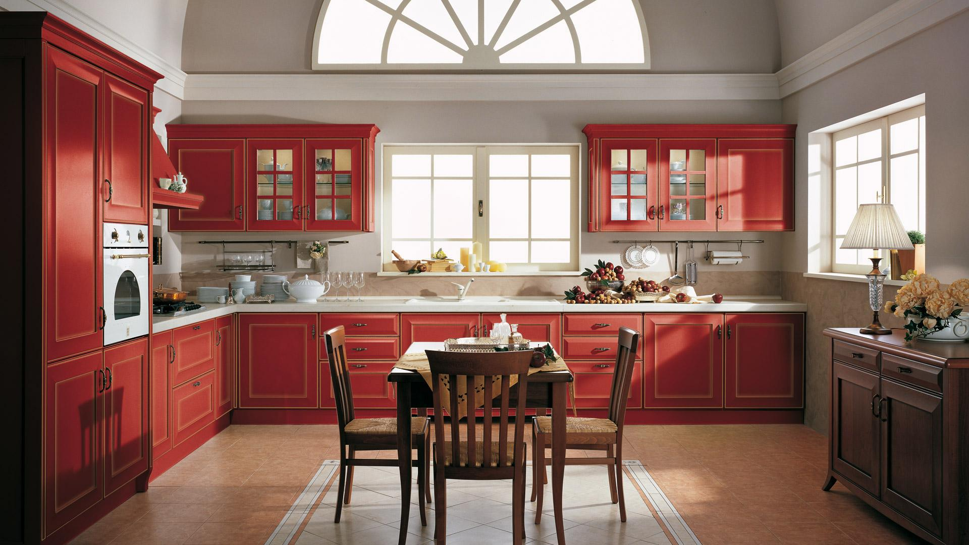 Cucina rustica le soluzioni classiche di lube store per for Modelli di sedie per cucina