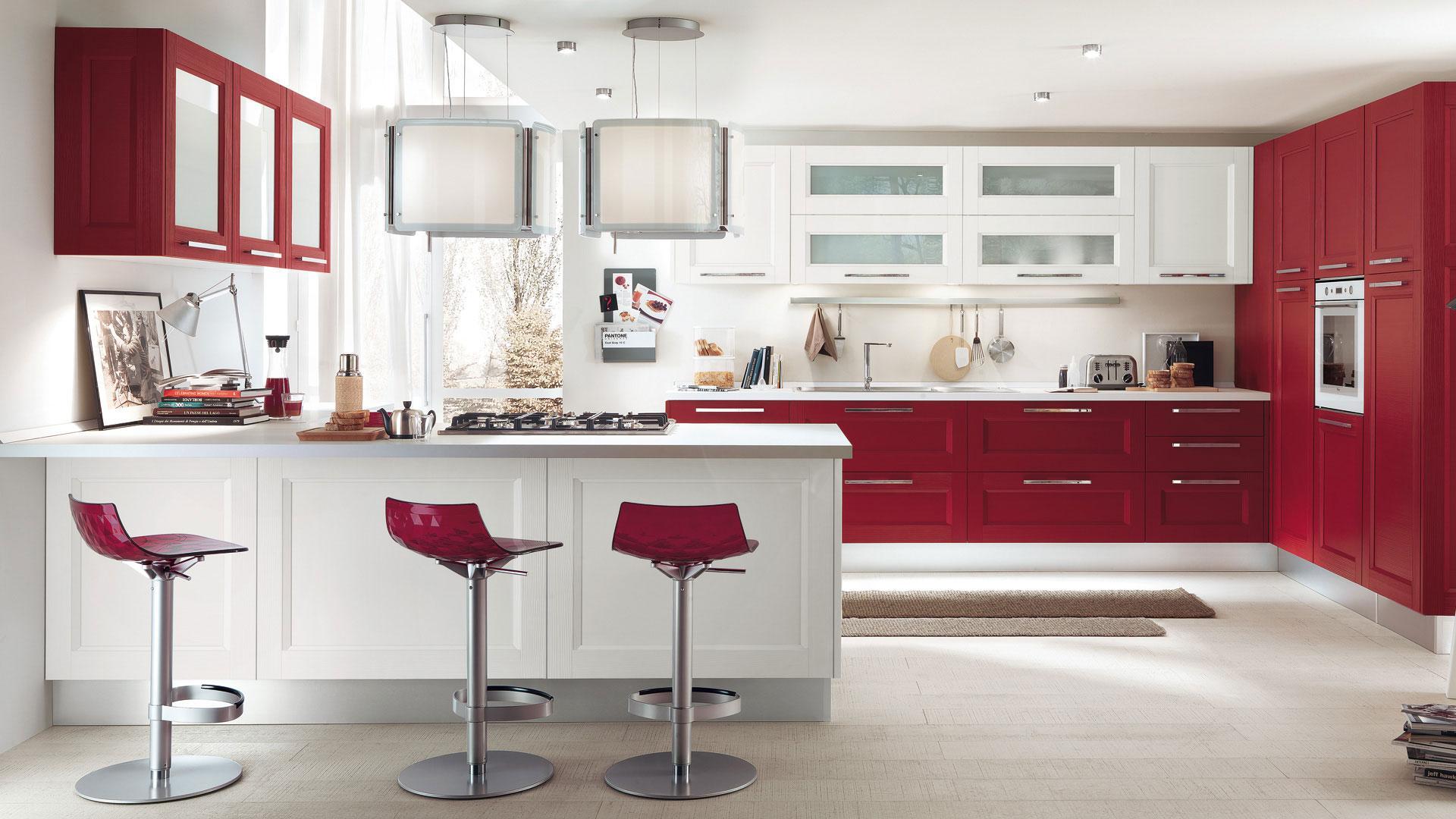 . Idee Arredamento Cucina Ikea. Idee Arredamento Salotto Cucina #7A252F 1920 1080 Progettare Una Cucina On Line Gratis