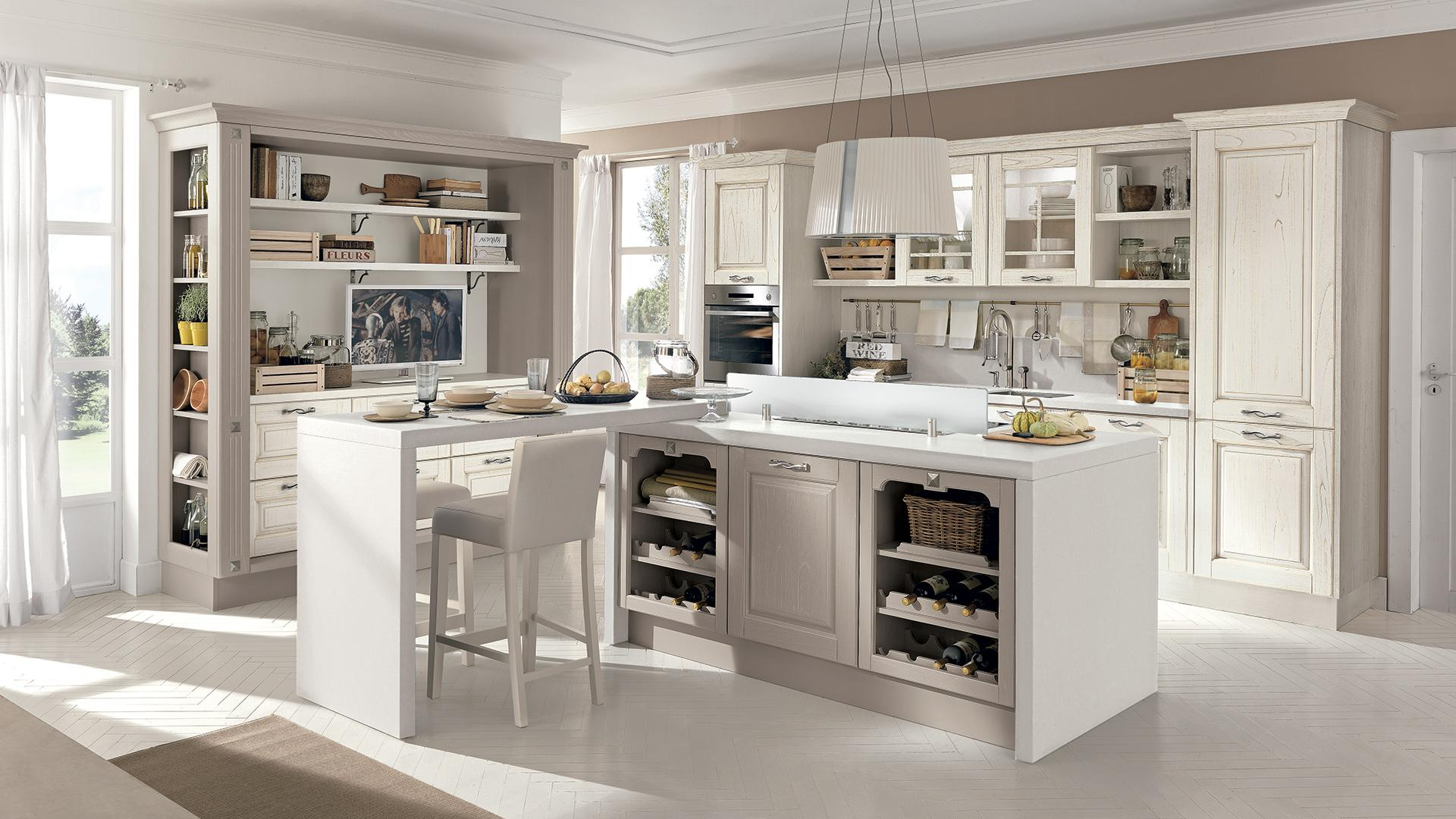 Cucina Con Isola Le Soluzioni Da Non Perdere Di Lube Store Lube  #947237 1920 1080 Cucine Veneta Con Isola