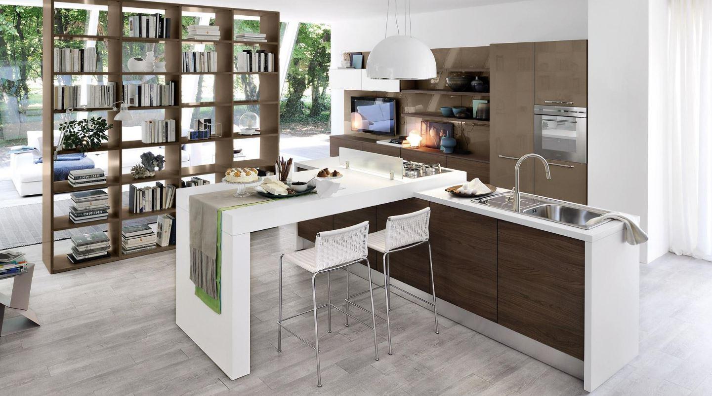 Come scegliere la forma della cucina i consigli di lube for Cucina arreda