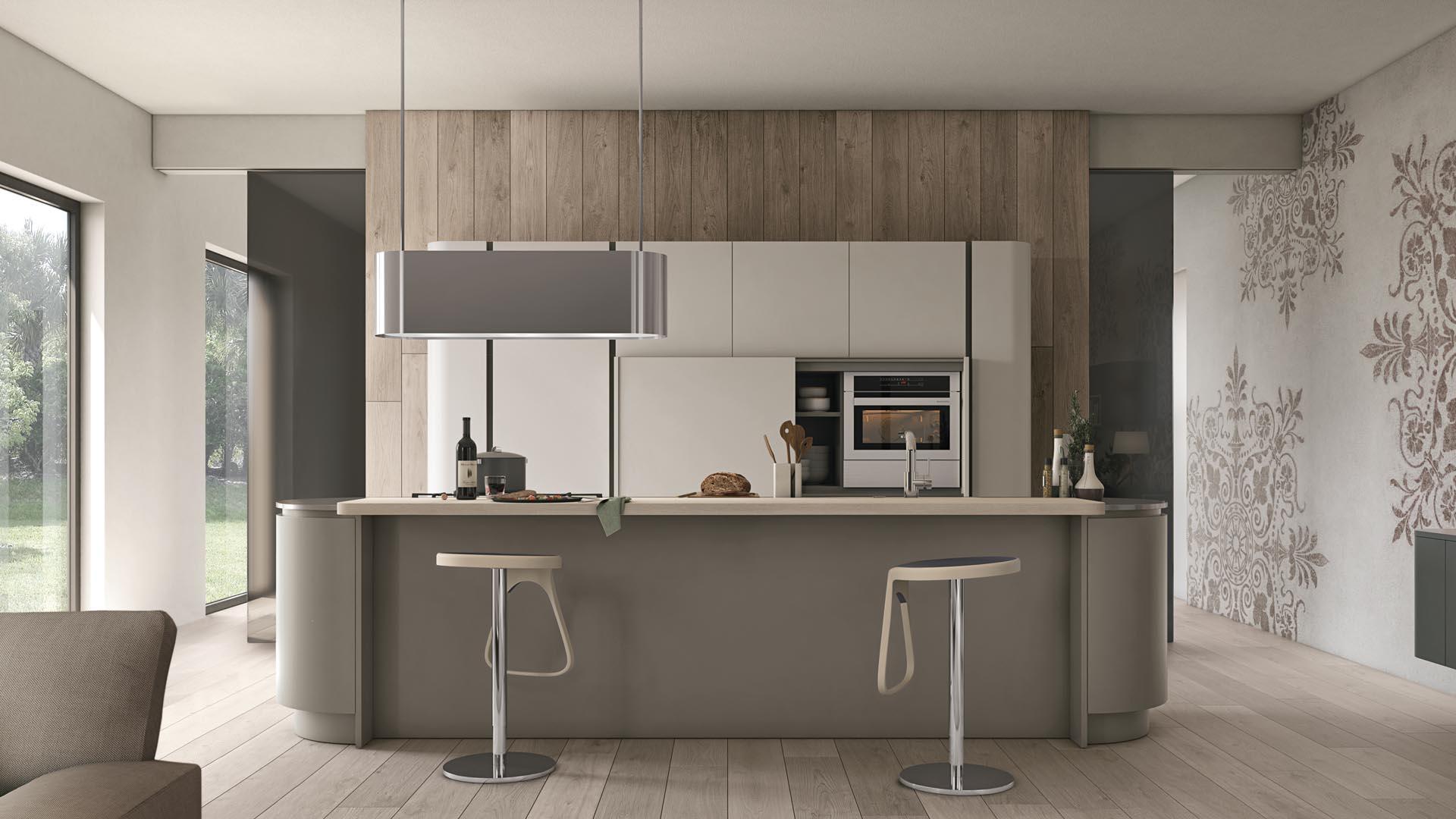 Colori per la cucina lube store milano le cucine lube creo a milano - Colori per interni cucina ...