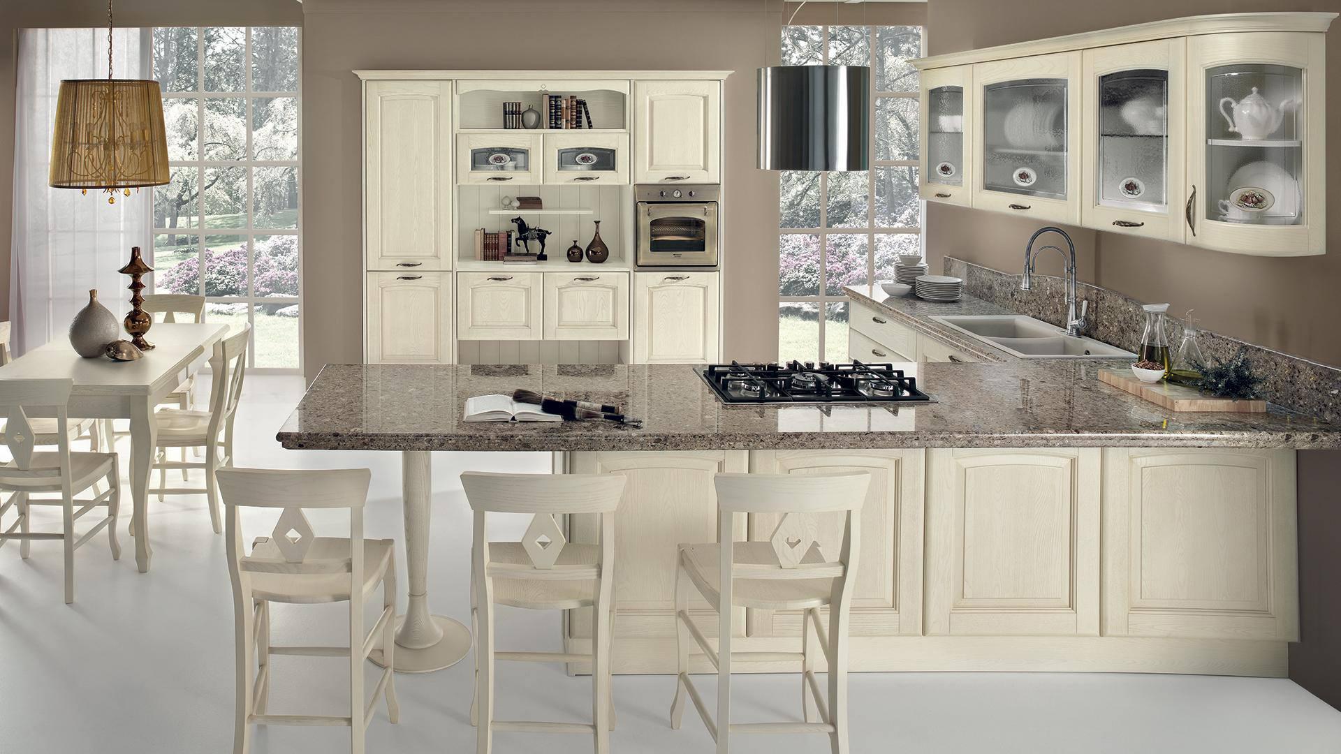Emejing cucine stile classico moderno photos - Cucine in muratura stile moderno ...