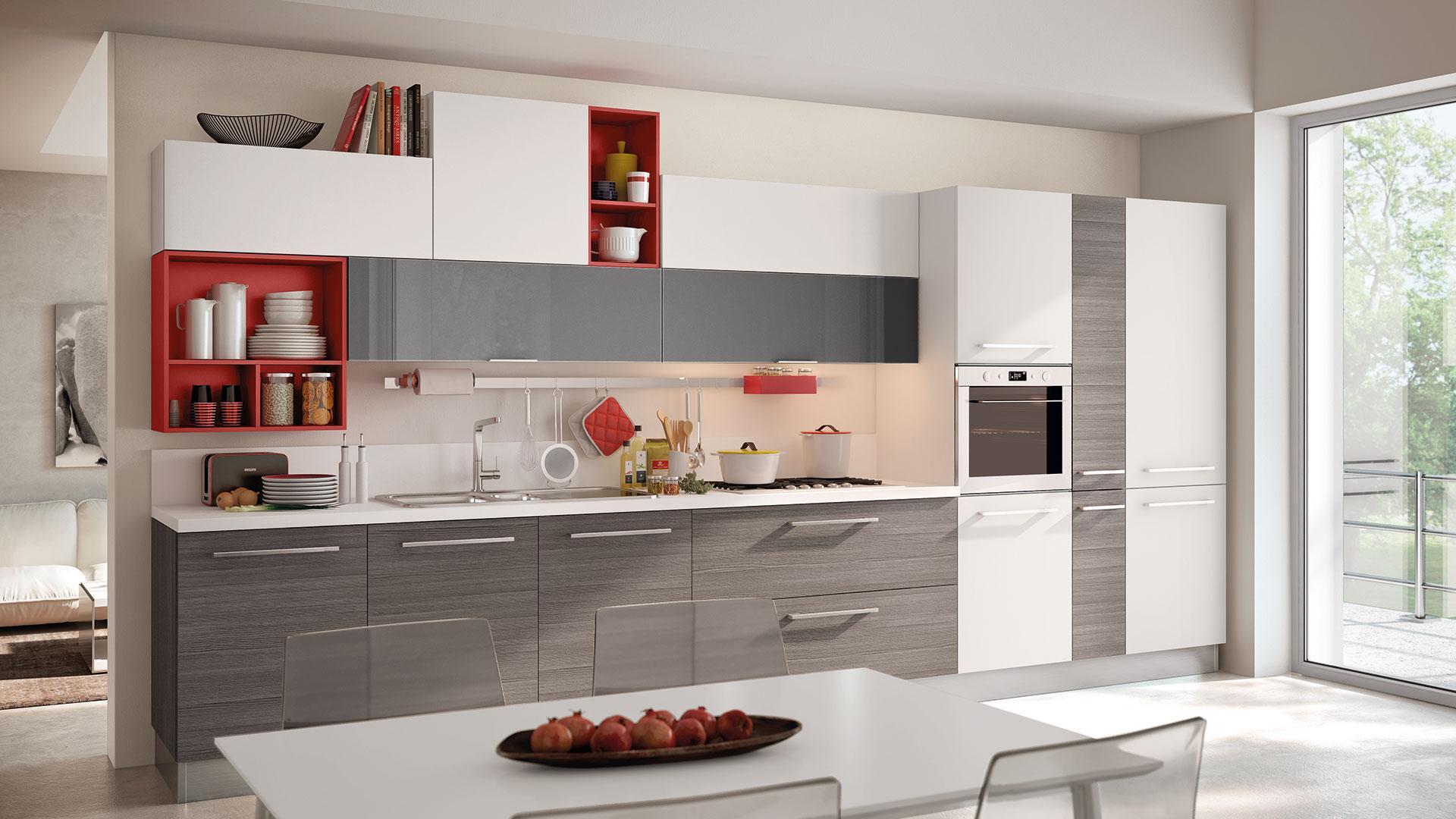 Come disporre i mobili in cucina dettagli e consigli da - Come disporre la cucina ...