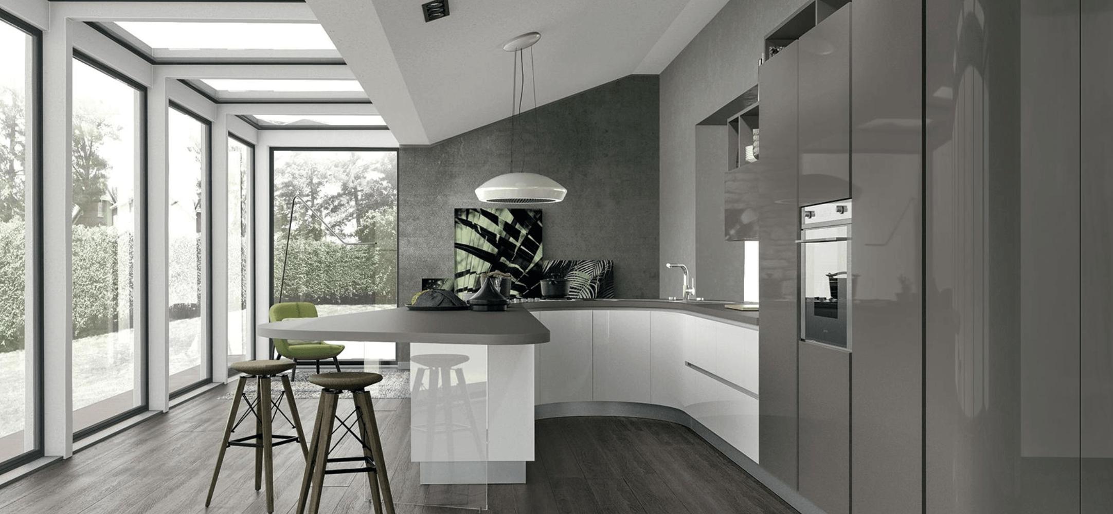 I migliori rivestimenti per le pareti della cucina lube store milano for Rivestimenti per cucine classiche