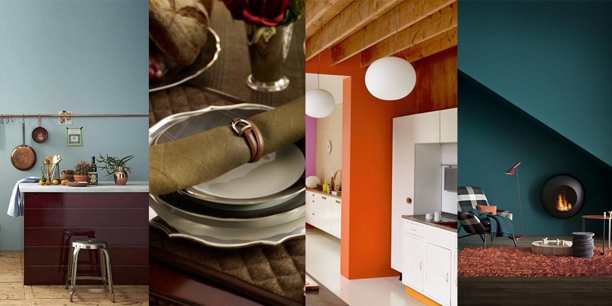 Pantone: l\'autunno 2018 tinge la cucina con i colori di tendenza ...