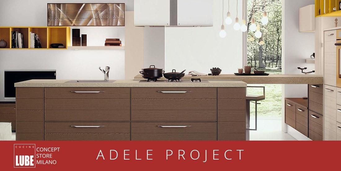 Adele Project - Lube Store Milano - Le Cucine Lube & Creo a Milano