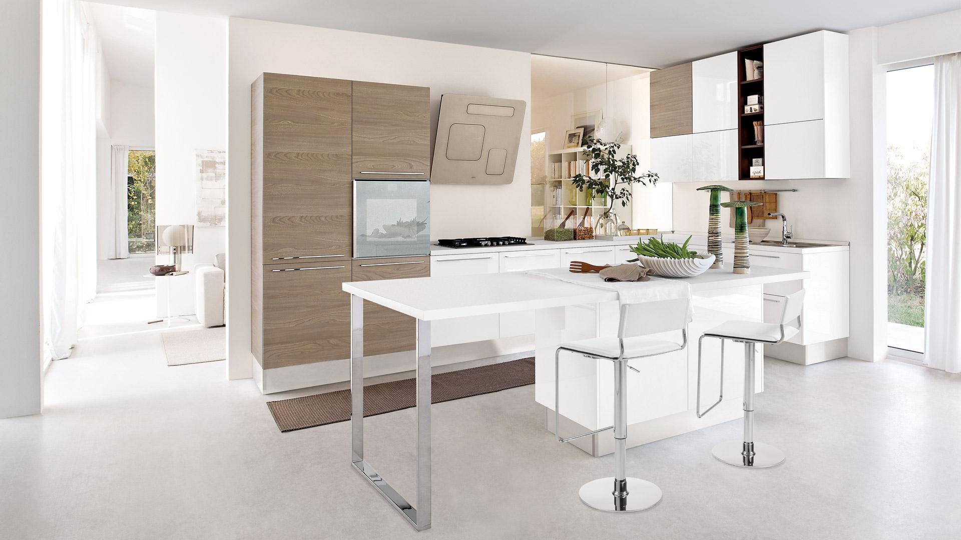 Cucina piccola, 5 consigli per farla sembrare più grande e spaziosa ...