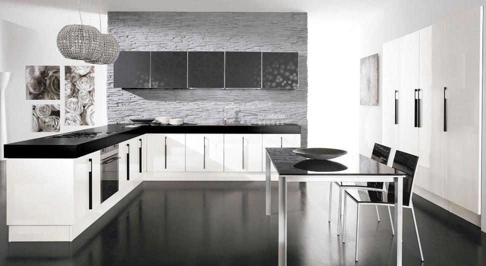 Arredare una cucina nera, lo stile per gli amanti del moderno - Lube ...