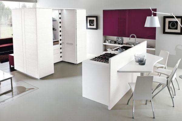 Cucina moderna archivi lube store milano le cucine lube creo a milano - Cucine moderne con isola lube ...