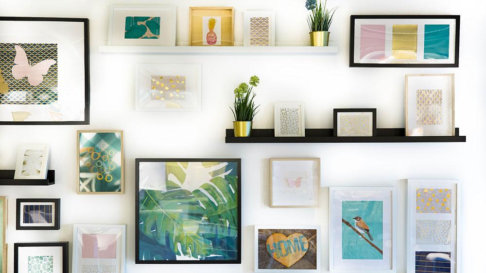Come rendere pi bella la tua casa 7 piccoli cambiamenti for Wall and deco showroom milano