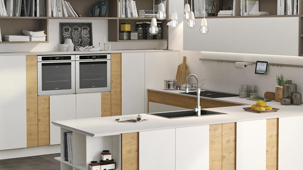 Cucina senza maniglie: quando e come sceglierla - Lube Store ...