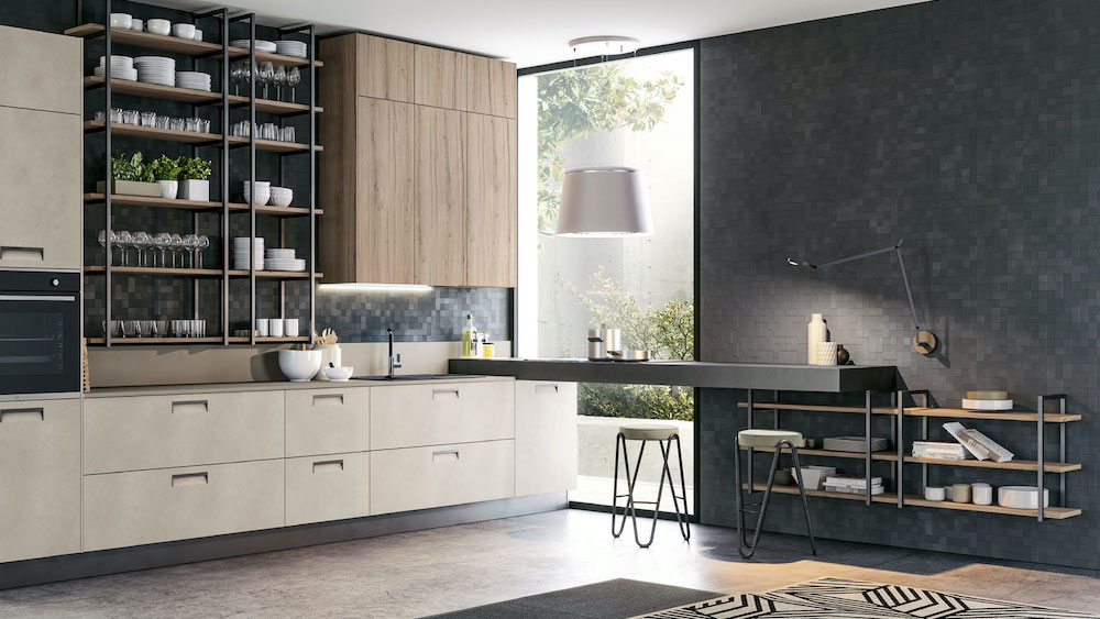 Progetta La Tua Cucina Componibile Al Lube Store Milano Lube Store Milano Le Cucine Lube Creo A Milano